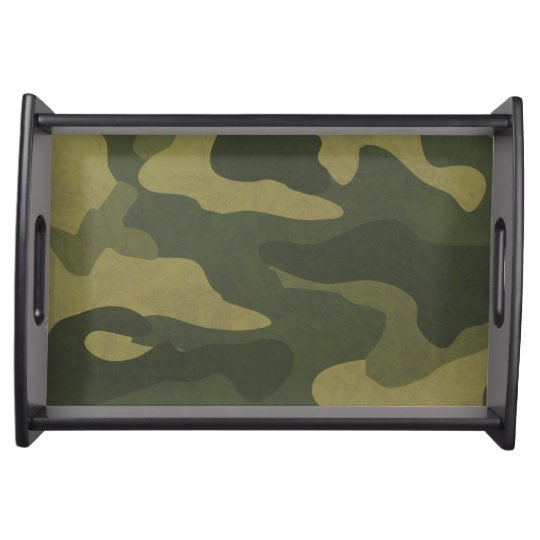 Camouflage Serving Trays