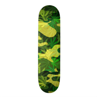 camouflage skate deck
