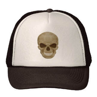 Camouflage Skull Hat