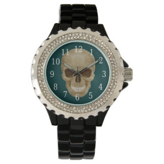 Camouflage Skull Watch