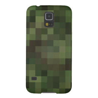 camouflage squared green galaxy s5 case