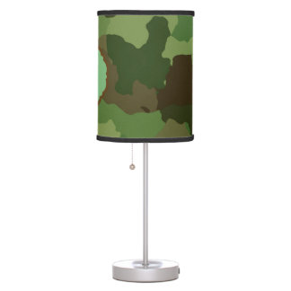Camouflage Table Lamp