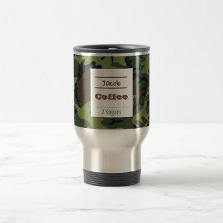 Camouflage Travel Coffee/Tea Mug