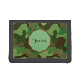 Camouflage Trifold Wallets