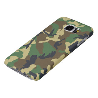 Camouflage Vintage Jungle Pattern Samsung Galaxy S6 Cases
