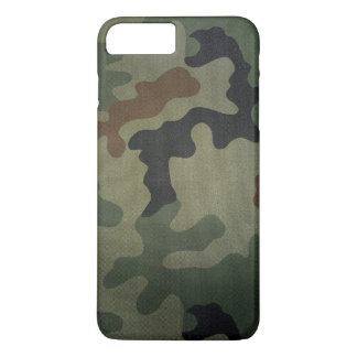 Camouflage Vintage Style Pattern iPhone 7 Plus Case