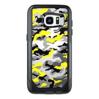 Camouflage Yellow Black Como Army Military Print