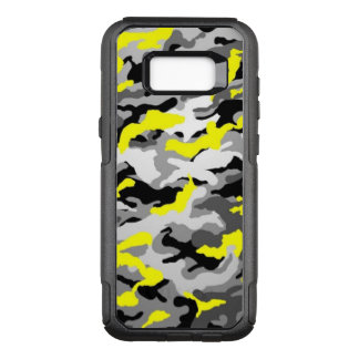 Camouflage Yellow Black Como Army Military Print OtterBox Commuter Samsung Galaxy S8+ Case