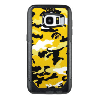 Camouflage Yellow Como Army Military Print OtterBox Samsung Galaxy S7 Edge Case