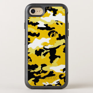 Camouflage Yellow Como Army Military Print OtterBox Symmetry iPhone 8/7 Case