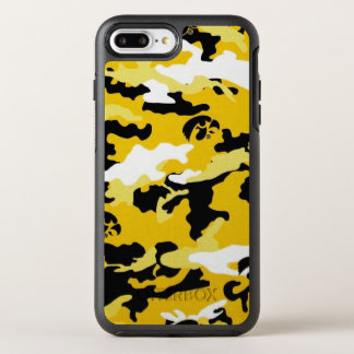 Camouflage Yellow Como Army Military Print OtterBox Symmetry iPhone 8 Plus/7 Plus Case