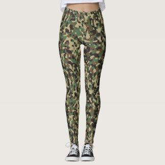 Camouflage Yoga Running Exercise Leggings