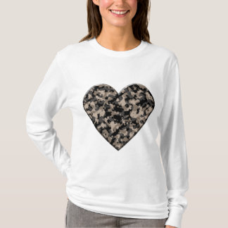 Camouflaged Heart T-Shirt