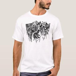 camouflaged Zebra T-Shirt