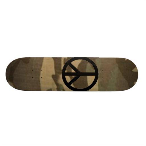 Camouflauge Skateboard