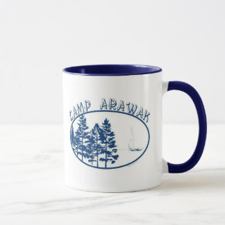 Camp Arawak Sleepaway Camp Mug