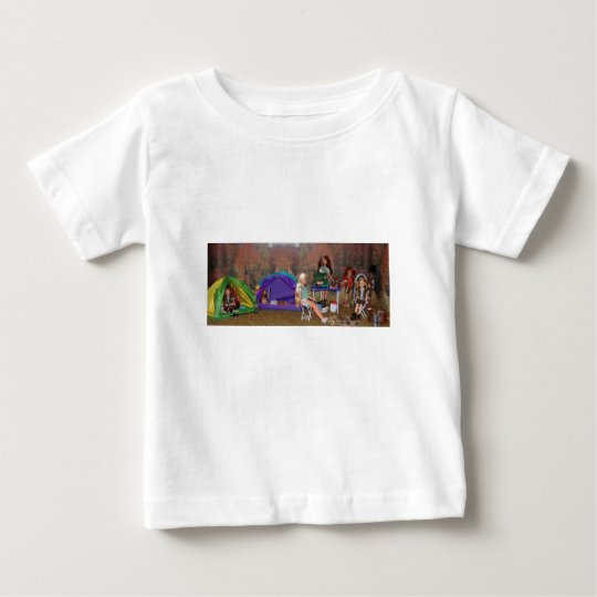 camp-baby tee for my dog Eva