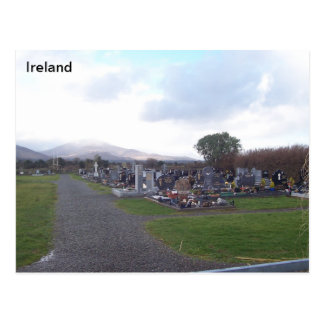 Camp Burial Ground, Camp, Co. Kerry, Ireland Postcard