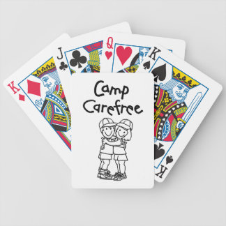 Camp Carefree Products Bicycle Playing Cards