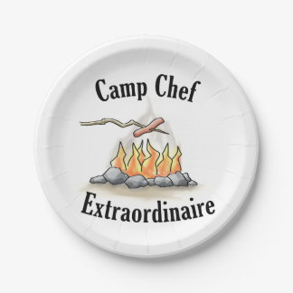 Camp Chef Extraordinaire Paper Plates 7 Inch Paper Plate