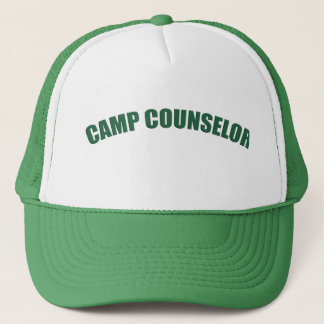 Camp Counselor Camping Hat