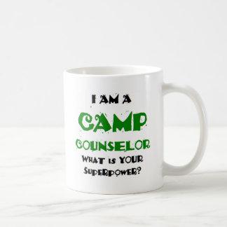 camp counselor coffee mug