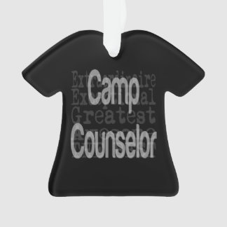 Camp Counselor Extraordinaire Ornament