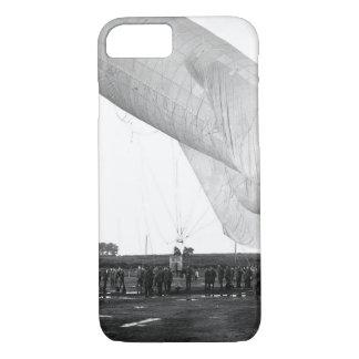 Camp de Meucon, Balloon ascending_War image iPhone 7 Case