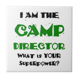 camp director tile