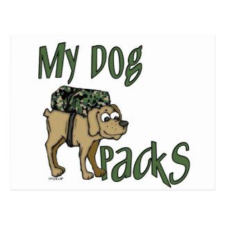 Camp Dog Post Cards