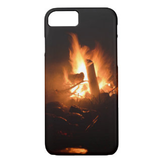 Camp Fire iPhone 7 Case