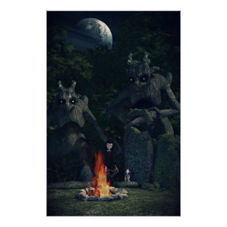 Camp Fire Poster