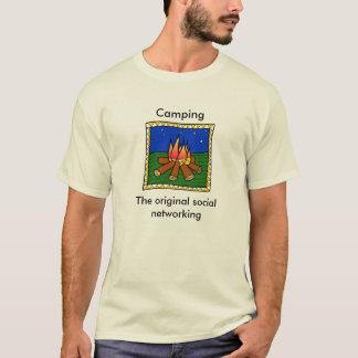 camp fire  The original social network... T-Shirt