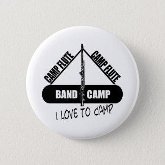 Camp Flute 2 Inch Round Button
