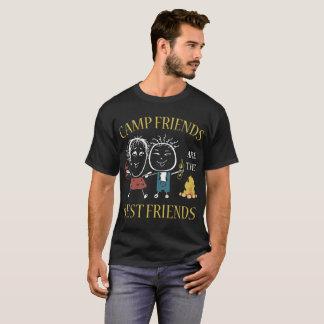 camp friends best friends t-shirts
