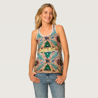 Camp Girl Tank Top