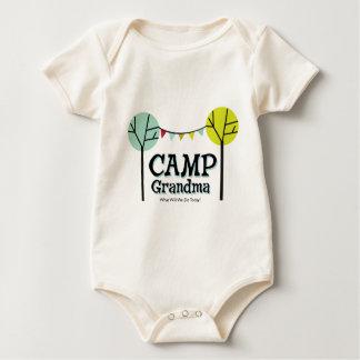 Camp Grandma Penants Baby Bodysuit
