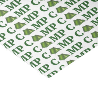 CAMP Green Tent Summer Camping Camper Gift Tissue Tissue Paper