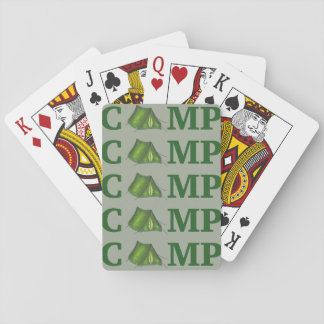 CAMP Green Tent Summer Camping Hiking Cards