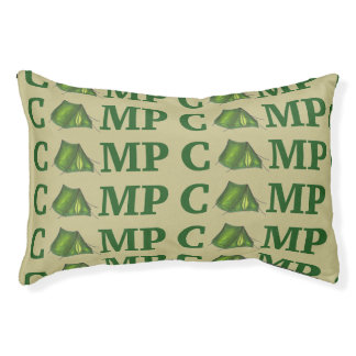 CAMP Green Tent Summer Camping Hiking Dog Bed