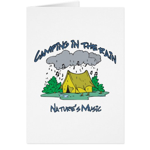 CAMP-Natures Music Greeting Card