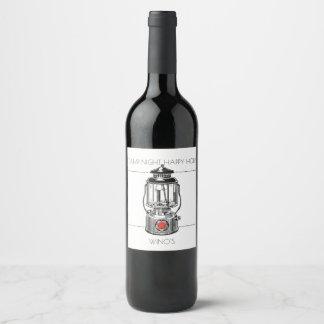 Camp Night Happy Hour Wine Label
