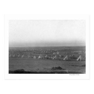Camp of the 7th Cavalry at Pine Ridge Postcard