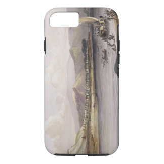 Camp of the Gros Ventres of the Prairies on the Up iPhone 7 Case