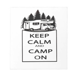 Camp On Collection Notepads