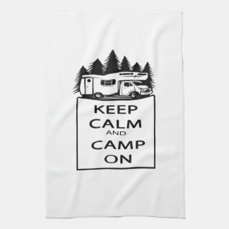 Camp On Collection Towel