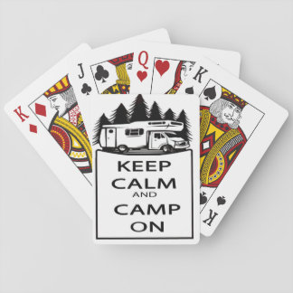 Camp On Playing Cards