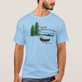 Camp Onomatopoeia Camper's Shirt