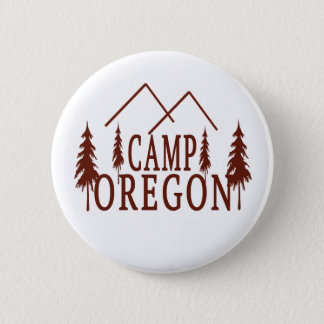 Camp Oregon 2 Inch Round Button