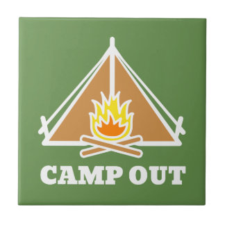 Camp out tile